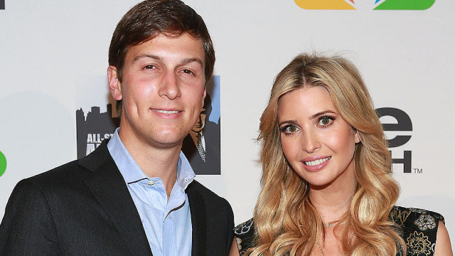 Ivanka Trump should have checked the background before uploading her latest family photo.