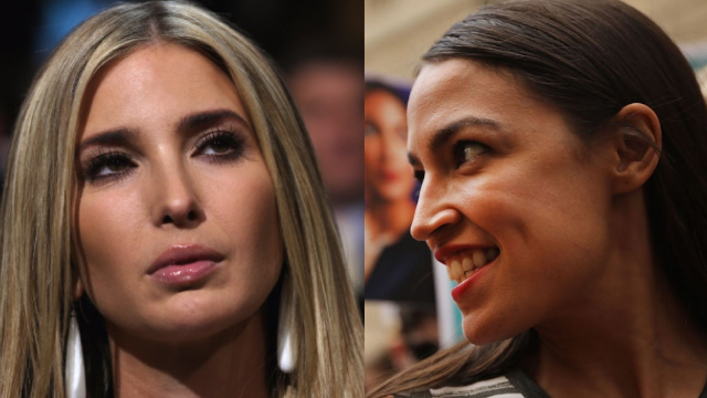 Ivanka Trump came for Alexandria Ocasio-Cortez with the biggest self-own.