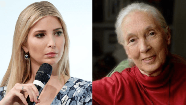 Jane Goodall & other women aren't so happy about being included in Ivanka Trump's book.