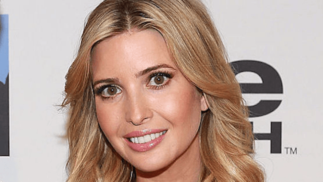 Ivanka Trump defied her dad in the lamest way possible. She'll be getting trolled until Christmas