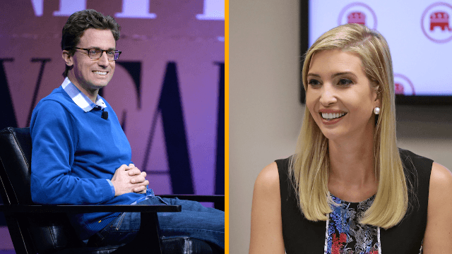 BuzzFeed CEO throws pundits into chaos, claims Ivanka Trump almost as crude about genitals as Donald.