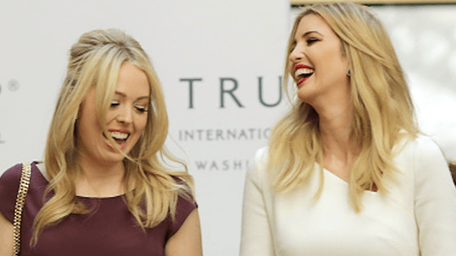Hero Ivanka Trump intervened to get Tiffany access to daddy's credit card.