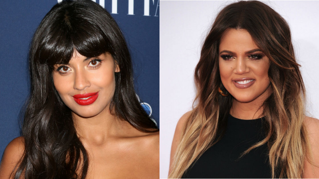 Jameela Jamil dragged the Kardashians for fat-shaming Khloe in response to an Instagram story.