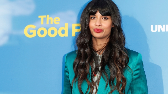 Jameela Jamil responds to criticism from LGBTQ community after taking job hosting HBO voguing competition.