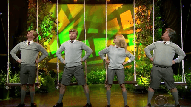 James Corden and friends channel 'Matilda' to turn Donald Trump's life into an adorable musical.