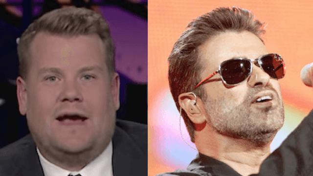 James Corden thanks George Michael for helping him create Carpool Karaoke.