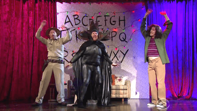 James Corden turned your favorite violent TV dramas into inappropriate musicals.