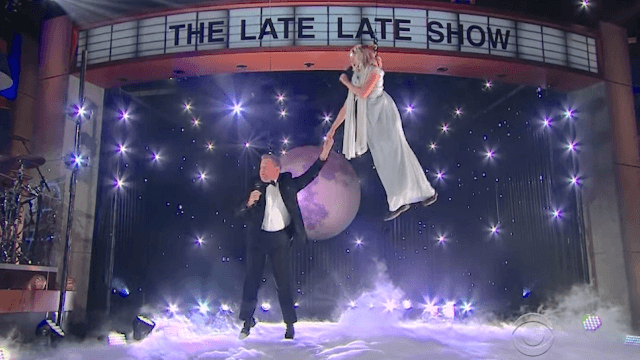 James Corden and Kristen Bell performed a sky-high duet and it could not have gone more wrong.