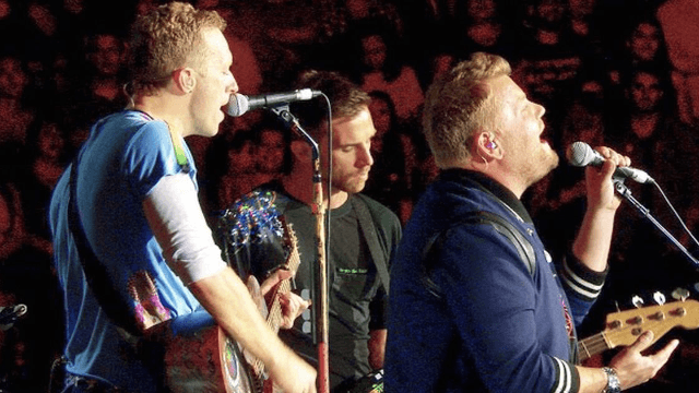 James Corden sang a Prince classic with Coldplay and brought the house down.