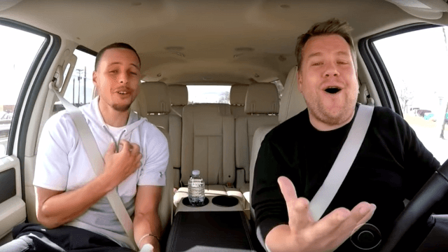 James Corden and Stephen Curry's Disney Carpool Karaoke is pure joy.