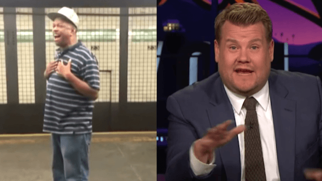 James Corden gave subway busker Mike Yung the chance to kill it on TV, and he did.