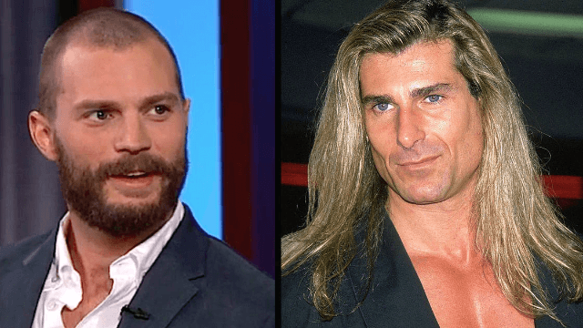 'Fifty Shades of Grey' star Jamie Dornan explains why Fabio is the reason he doesn't live in LA.