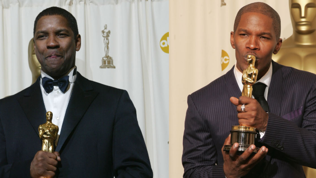 Jamie Foxx doesn't care about #OscarsSoWhite because he already has an Oscar. JK?