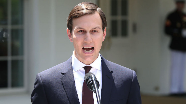 Trump Mocks Kushner At Gridiron Dinner: 'Jared Could Not Get Through Security'