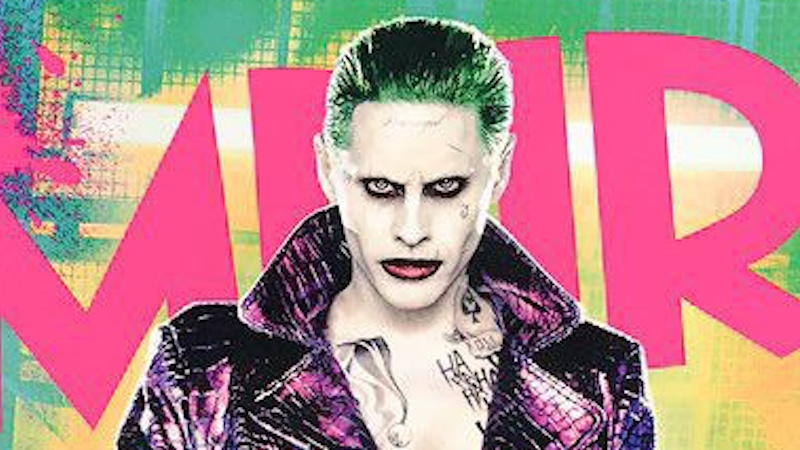 Jared Leto's Joker is surprisingly erotic on a new magazine cover.