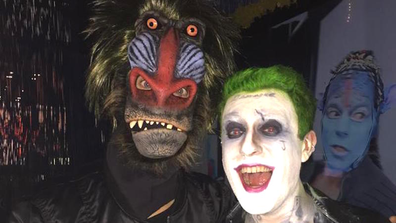 Jared Leto and Mark Ruffalo went to New York Comic Con in extremely creepy disguises.