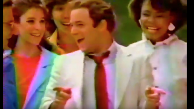 George Costanza is unrecognizable in this singing, dancing McDonald's ad from the '80s.