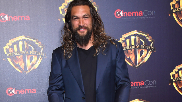 Jason Momoa says he wasn't offended by 'dad bod' comments. Loved his Guiness birthday cake.
