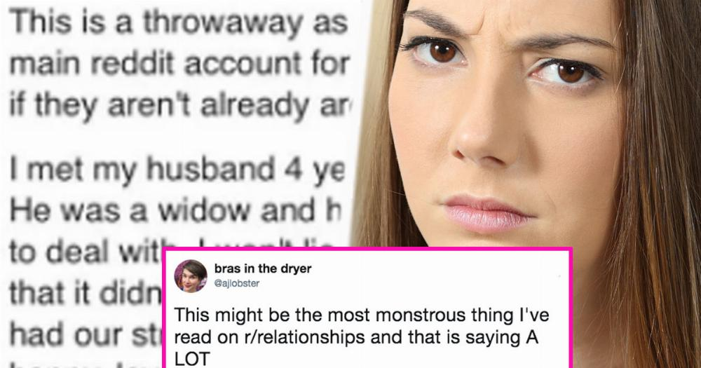Horrible jealous wife asks the internet for relationship advice