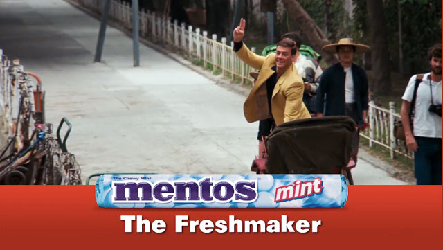 Jean-Claude Van Damme accidentally made a '90s-style Mentos commercial back in the '80s.
