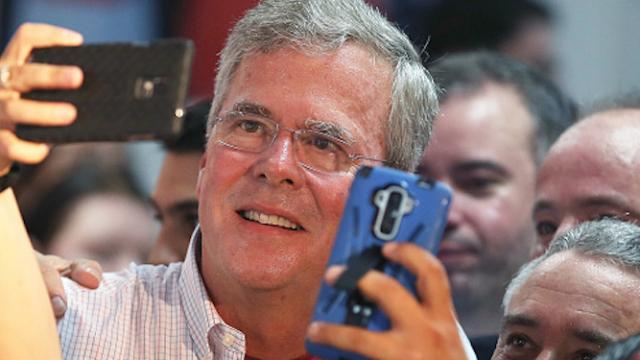 Jeb Bush tweeted a 9/11 photo to make his brother look good, him look bad.