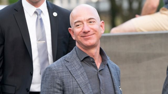 Jeff Bezos thanked Amazon employees who 'paid for' space launch and people are mad.