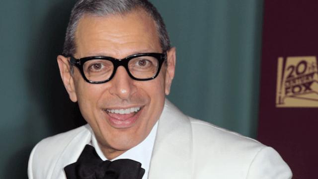 Jeff Goldblum hilariously critiques tattoos of Jeff Goldblum.
