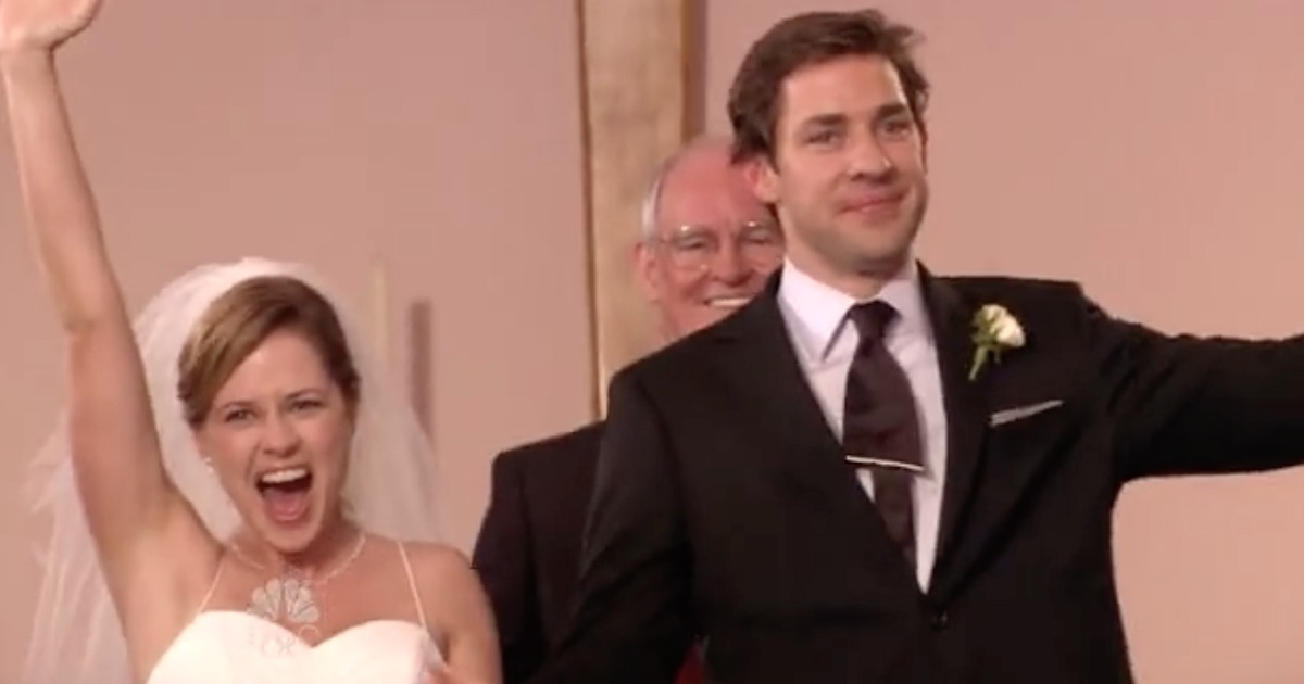 Pam from 'The Office' said that she and John Krasinski ...