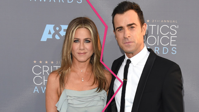 Jennifer Aniston and Justin Theroux Splits!