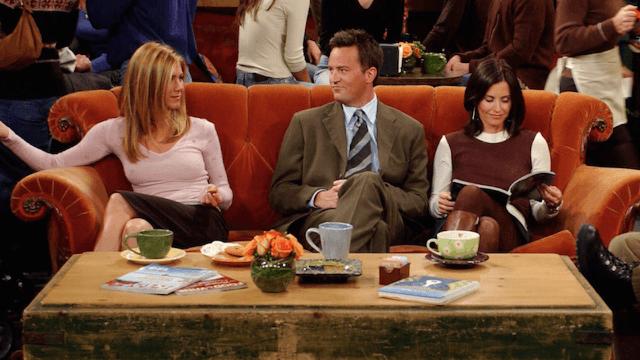 Jennifer Aniston jokes what 'Friends' would look like if it took place in 2017.