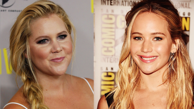 """Jennifer Lawrence emailed Amy Schumer """"I'm in love with you,"""" and now they're writing a movie."""