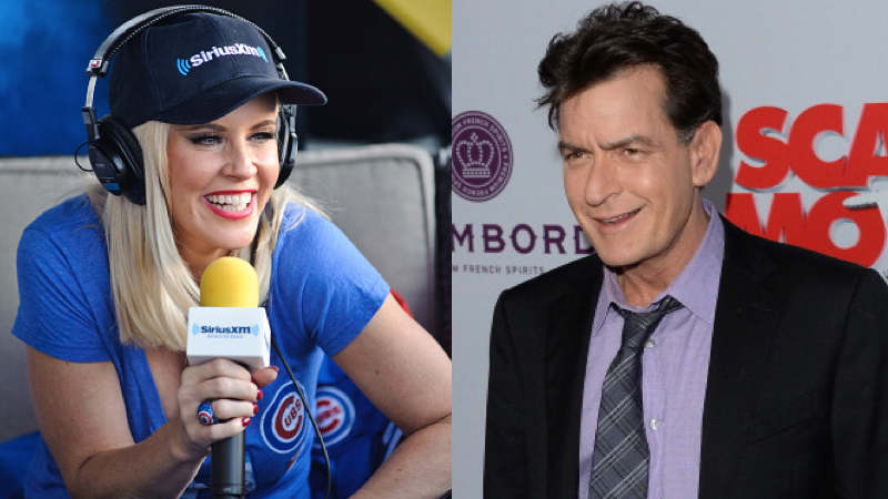 Jenny McCarthy is mad Charlie Sheen didn't tell her he had HIV when she played his love interest.