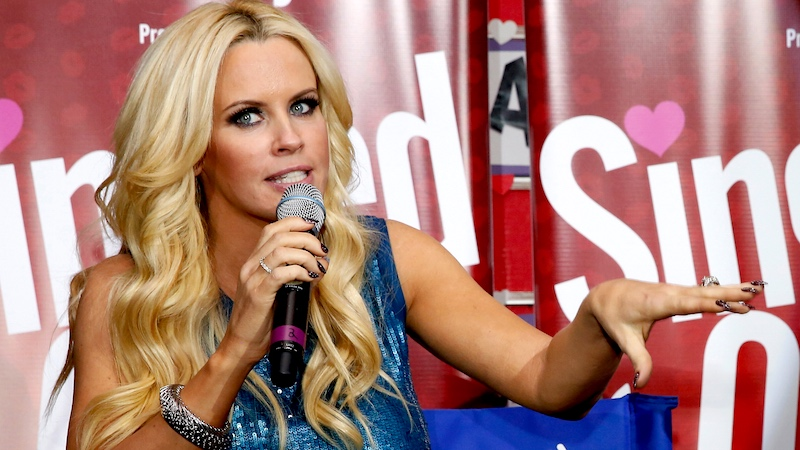 Jenny McCarthy wants to do something special for Playboy's last nudie issue.