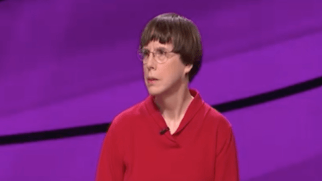 This nerdy, 'hopelessly stereotypical' librarian KILLED on 'Jeopardy.'