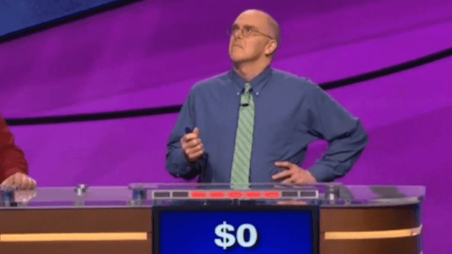 This might not be the worst 'Jeopardy!' guess of all time, but it has to be the most confident.