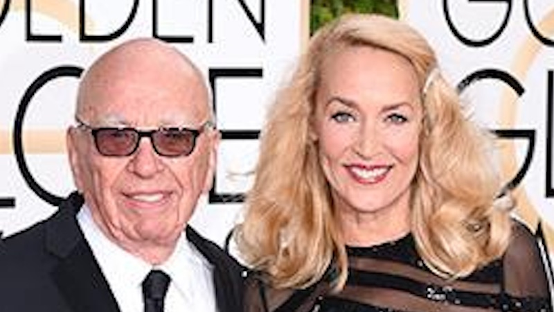 Jerry Hall and Rupert Murdoch are engaged, and you didn't even know they were dating.