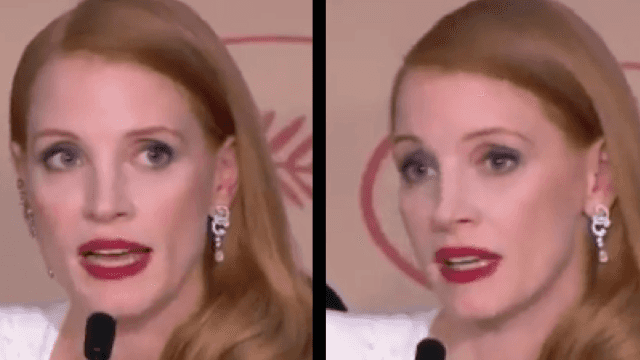 "Jessica Chastain calls out Cannes for ""disturbing"" portrayal of women."