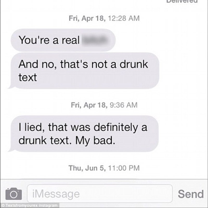 25 people who are way too drunk to be texting right now.