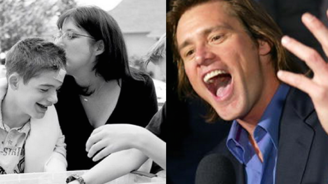 This mom signed up for Twitter just to tell off Jim Carrey for using her autistic son's photo.