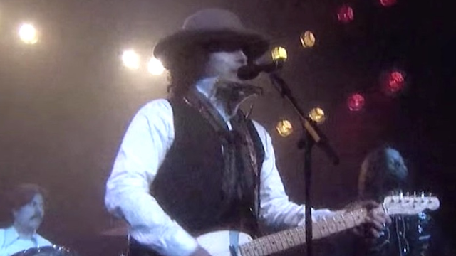 This is as close as you'll ever get to Bob Dylan singing 'Hotline Bling' on 'The Tonight Show.'