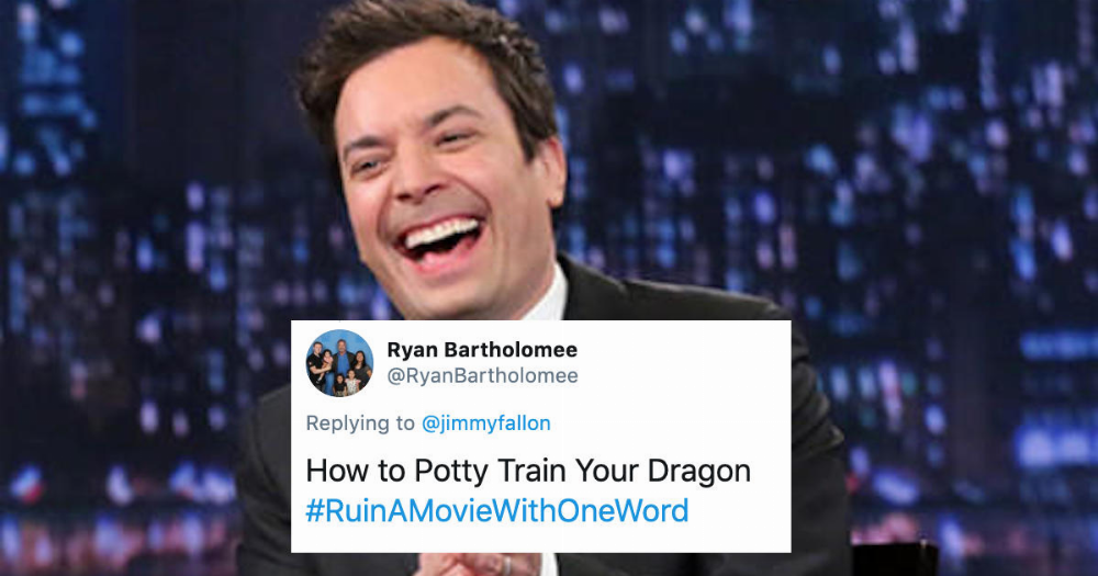 36 of the funniest responses to Jimmy Fallon asking fans to 'ruin' a movie title by adding a word.