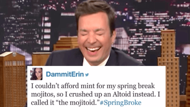Jimmy Fallon shared everyone's #SpringBroke stories and you're all cheap AF.