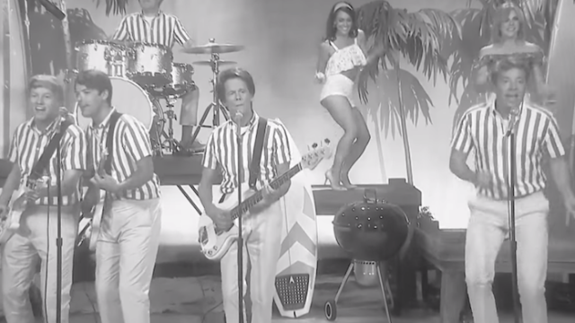 "Jimmy Fallon and Kevin Bacon sing The Beach Boys ""Fun, Fun, Fun"" with more relatable lyrics."