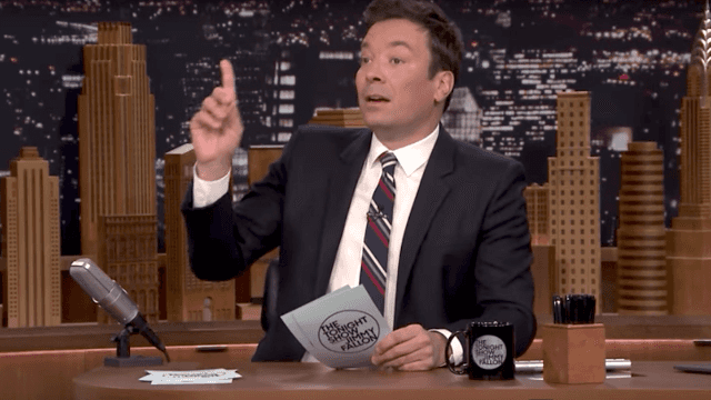 Jimmy Fallon breaks down the pros and cons of working at the White House.