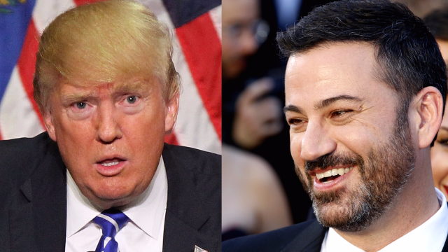 Here's Jimmy Kimmel's Comeback For Trump's Tweet About The Lowest-Rated Oscars