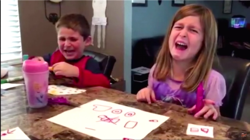 In a beloved tradition, parents told their kids they ate their Halloween candy and filmed it.