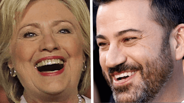 Jimmy Kimmel asked Trump supporters if Hillary should be impeached. (She's not president.)