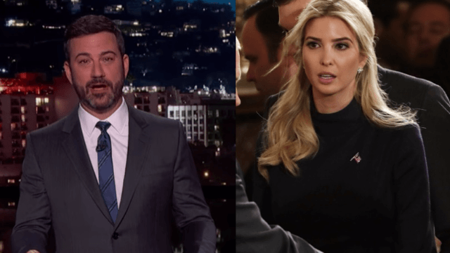 Jimmy Kimmel thinks he knows why Ivanka Trump got a White House office.