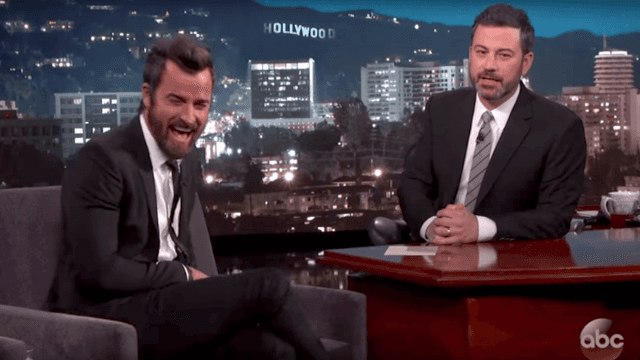 Jennifer Aniston helped Jimmy Kimmel pull the ultimate prank on her husband Justin Theroux.