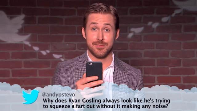 Jimmy Kimmel had celebrities read Mean Tweets again, and this time it got nasty.